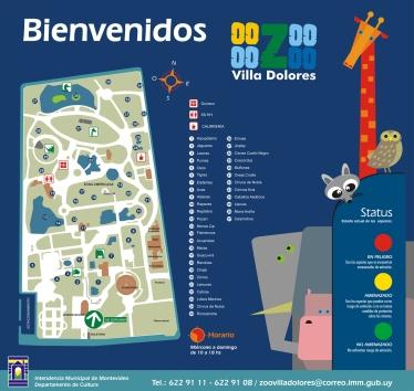 Cartel de entrada Zoo