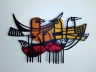 Pájaros alborotados
